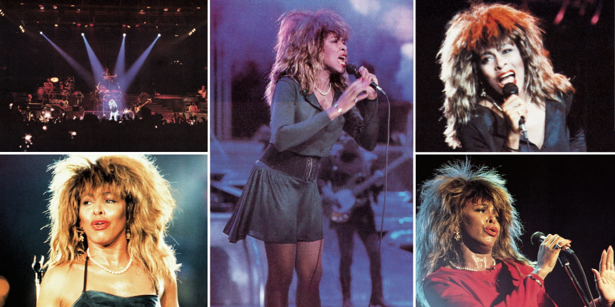 Tina Turner - Break Every Rule Tour 1987 - 1988 - Live