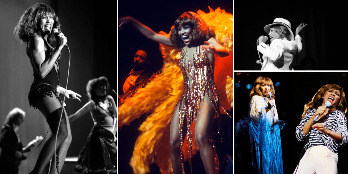 Tina Turner - Wild Lady of Rock - Tour